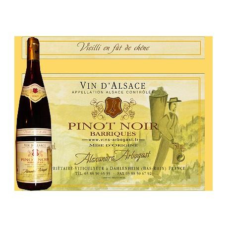 Pinot Noir (Vielli en fût de chênes) 75cl